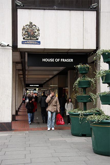House of Fraser, Victoria Street