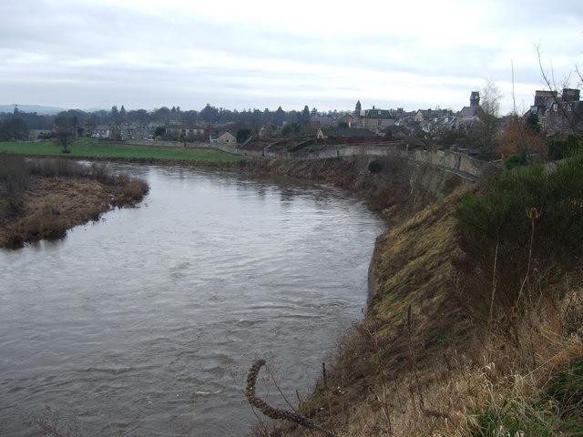 River Tweed and Nun's Walk