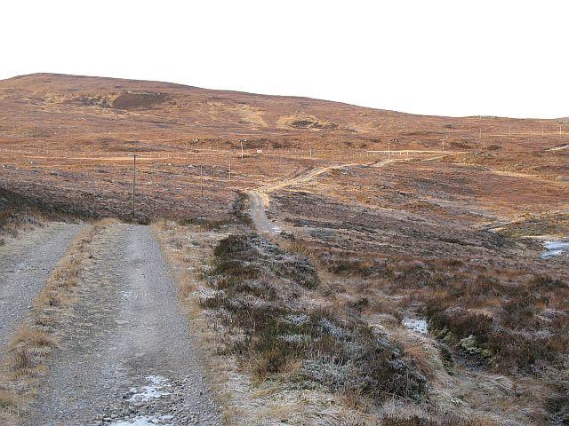 Loch na Stac road