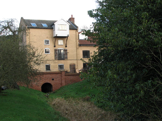 The former Bacton Wood Watermill