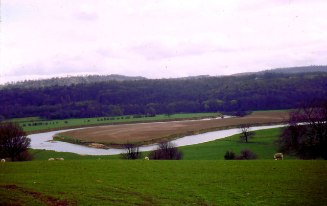 A Severn meander between Buildwas and Leighton