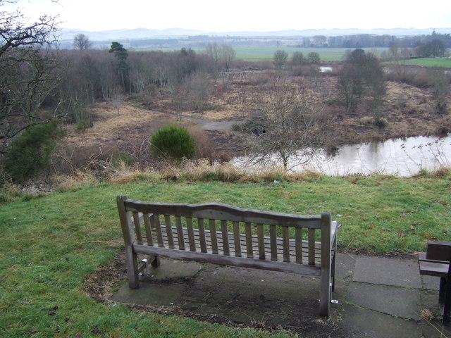 Viewpoint near Coldstream Bridge
