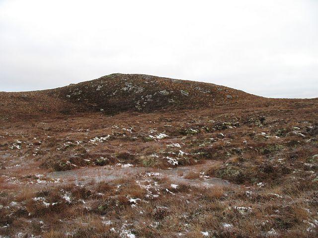 Northeast ridge, Carn na Caorach