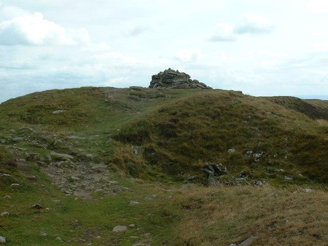 Summit cairn of Chwarel y Fan