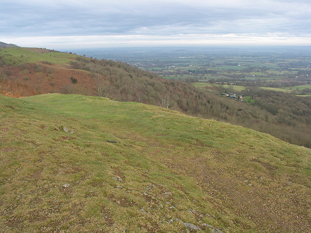 View NE from Swinyard Hill