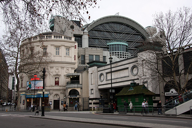 Charing Cross and the Playhouse Theatre