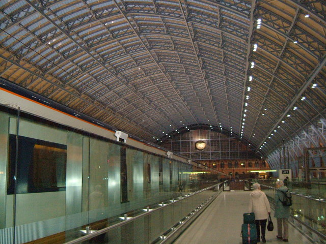 St.Pancras International.