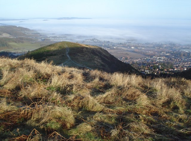 End Hill and the Teme valley