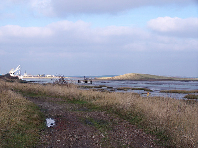 Saxon Shore Way, The Swale