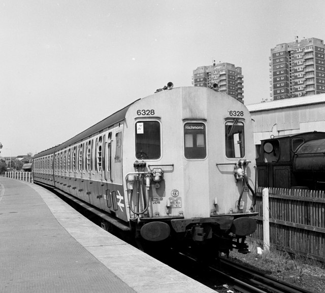 North Woolwich station, 1986