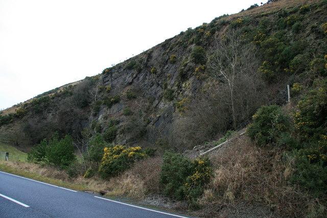 Old quarry near Cwmyrhiwdre
