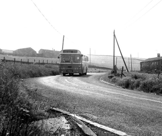 Pennine bus route