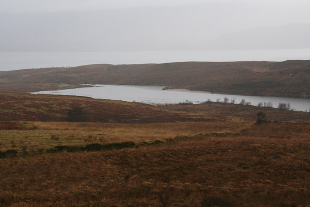 Lochan, west of Cuil taken from track