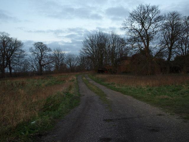 Sixscore Farm access