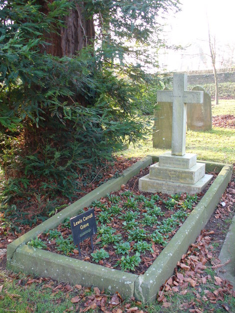 The Lewis Carroll Grave