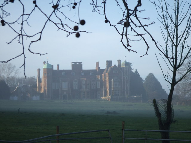 Madingley Hall,  East Front