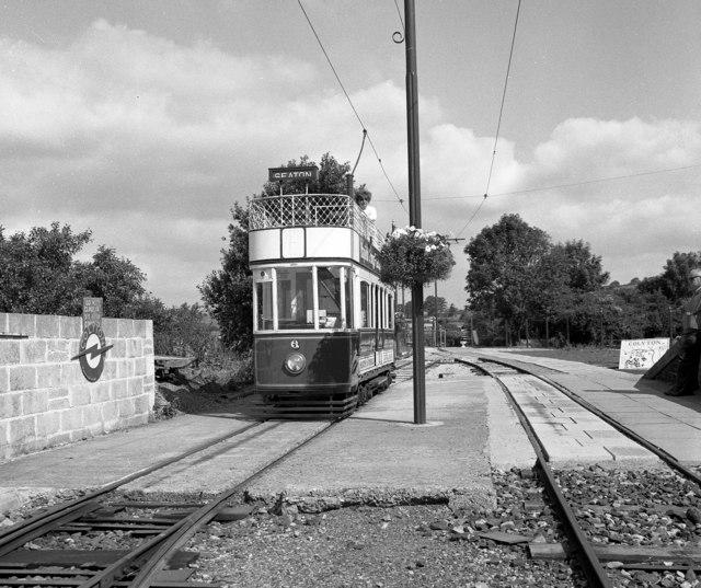 A tram at Colyton