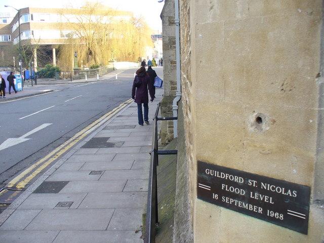Flood Level Mark, Guildford