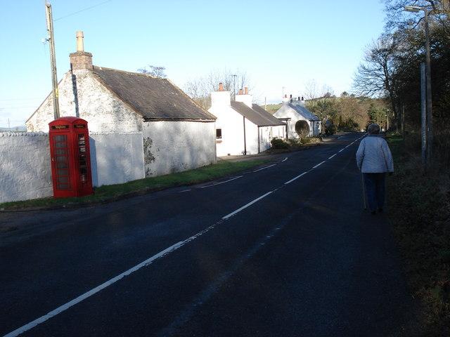 Gelston Village (B727 Towards The Mill)