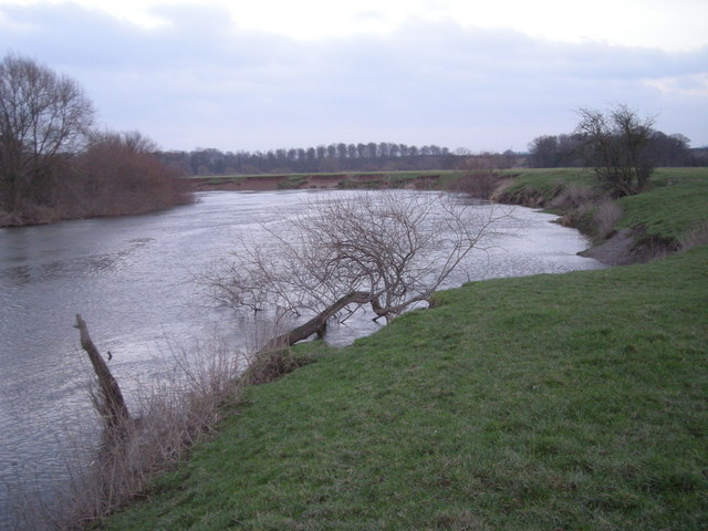 River Severn near Lower Brompton Farm