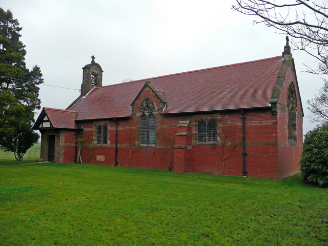All Saints church, Balterley
