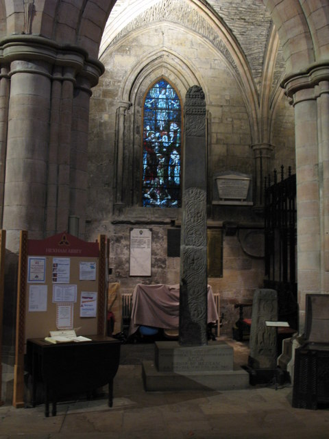 St. Acca's Cross, Hexham Abbey