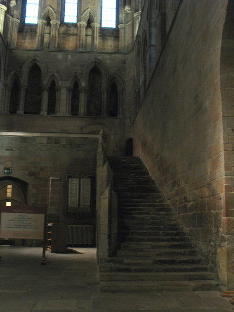 The Night Stair, Hexham Abbey