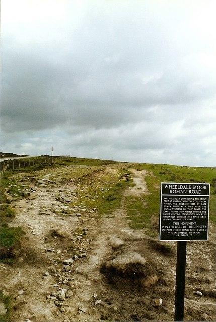 Wheeldale Moor Roman Road