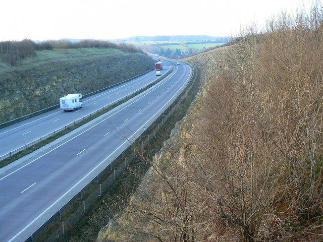 A417 Baunton