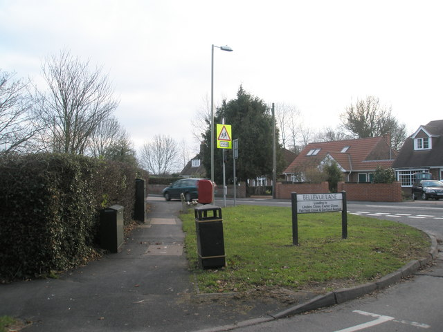 Corner of Bellevue Lane