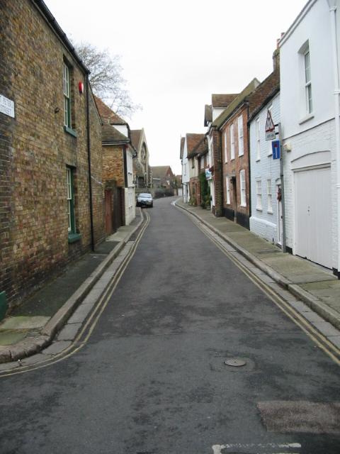View along St Peter's Street