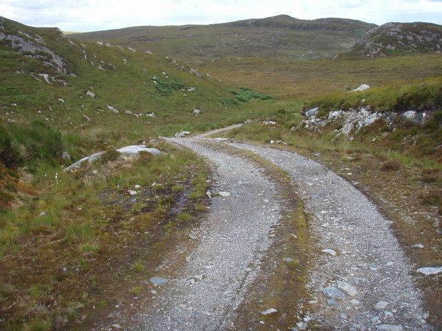 Track from Little Gruinard to Fionn Loch