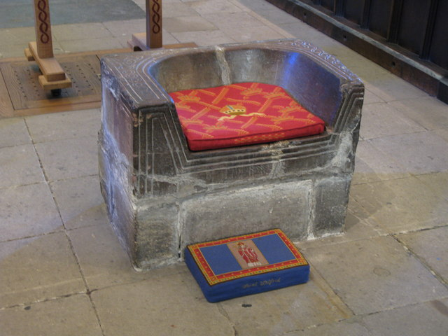 The Frith Stool, Hexham Abbey