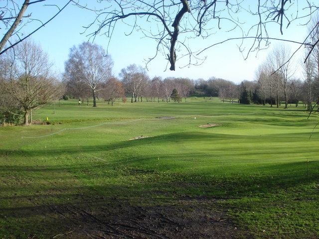 Green on the Worcestershire Golf Course