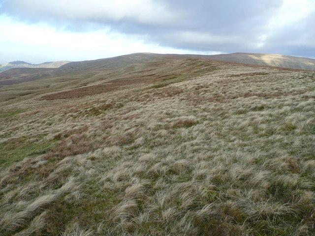 The Mynydd Llysiau ridge