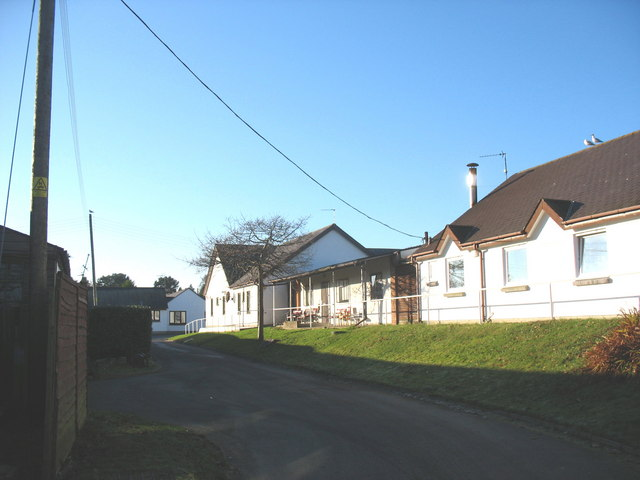 Part of the nursing home at Penrhos Camp