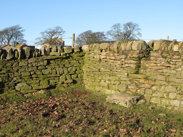 Stone stile near Old Town