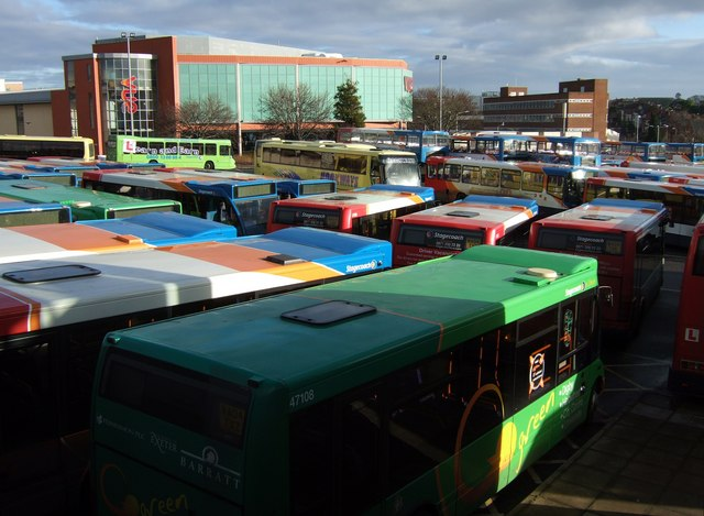Exeter Bus and Coach Station