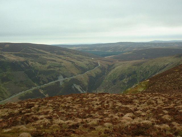 Cwm Hirnant from Goel Goch