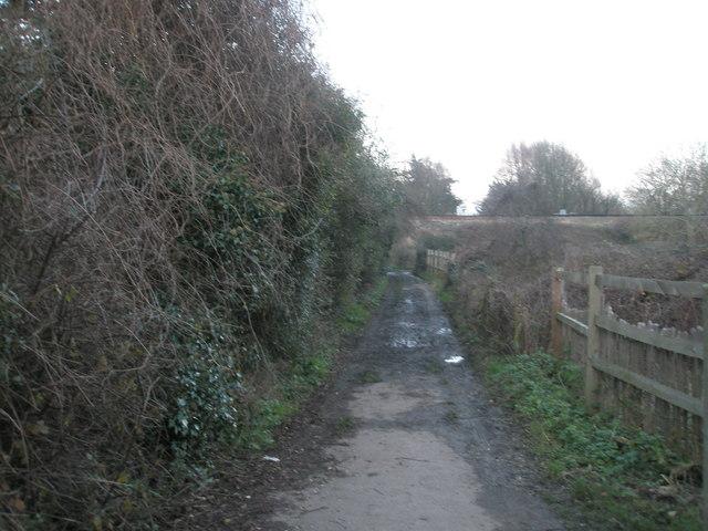 Path behind Sultan Road