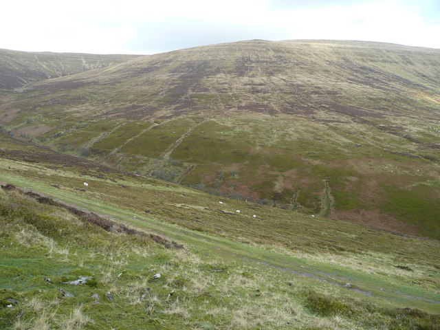 Upper Grwyne Fechan valley