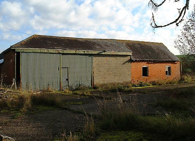 Bransbury -  Derelict building near Bransbury