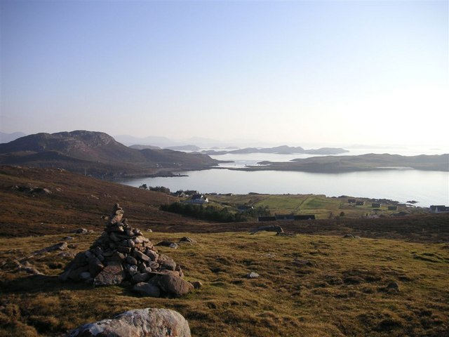 Summer Isles from Cairn above Altandhu