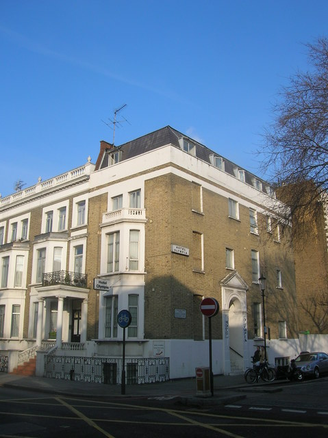 Hotel Olympia at Junction of Warwick Road London SW5 and Earl's Court Square London SW5
