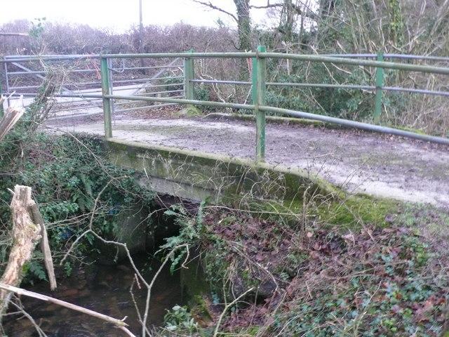 Bridge over small stream