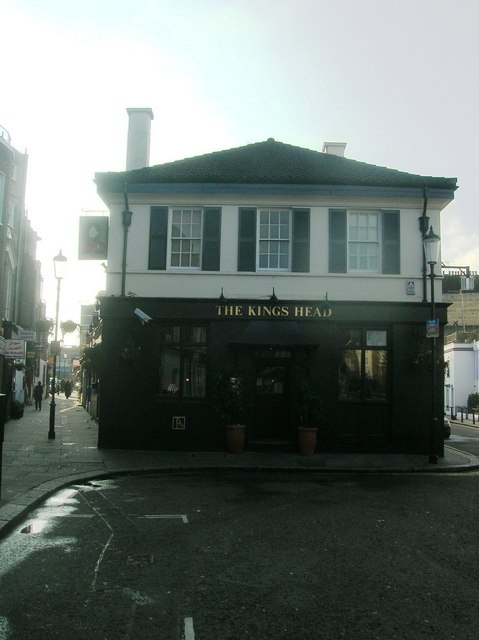 The Kings Head Public House, Kenway Road, London SW5