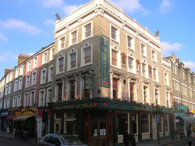 The Prince of Teck Public House, Earl's Court Road, London SW5