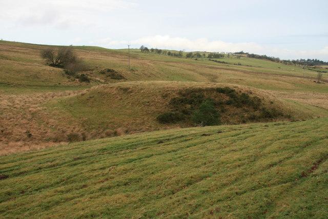 Tomen Bryn Dadlau Mound