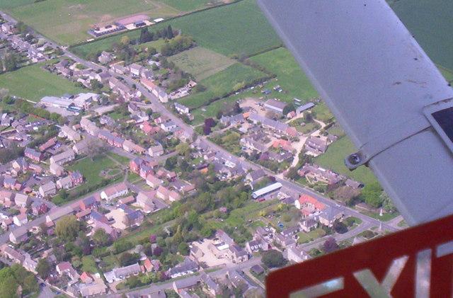 Aerial View of Helpston