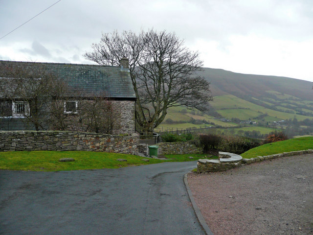 Stone cottage at Pen-y-bair